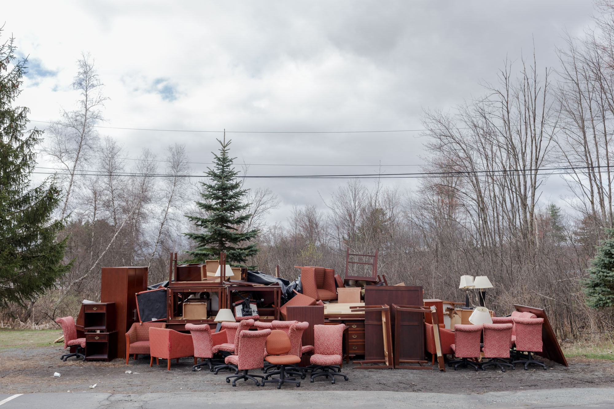 Discarded Hotel Furniture