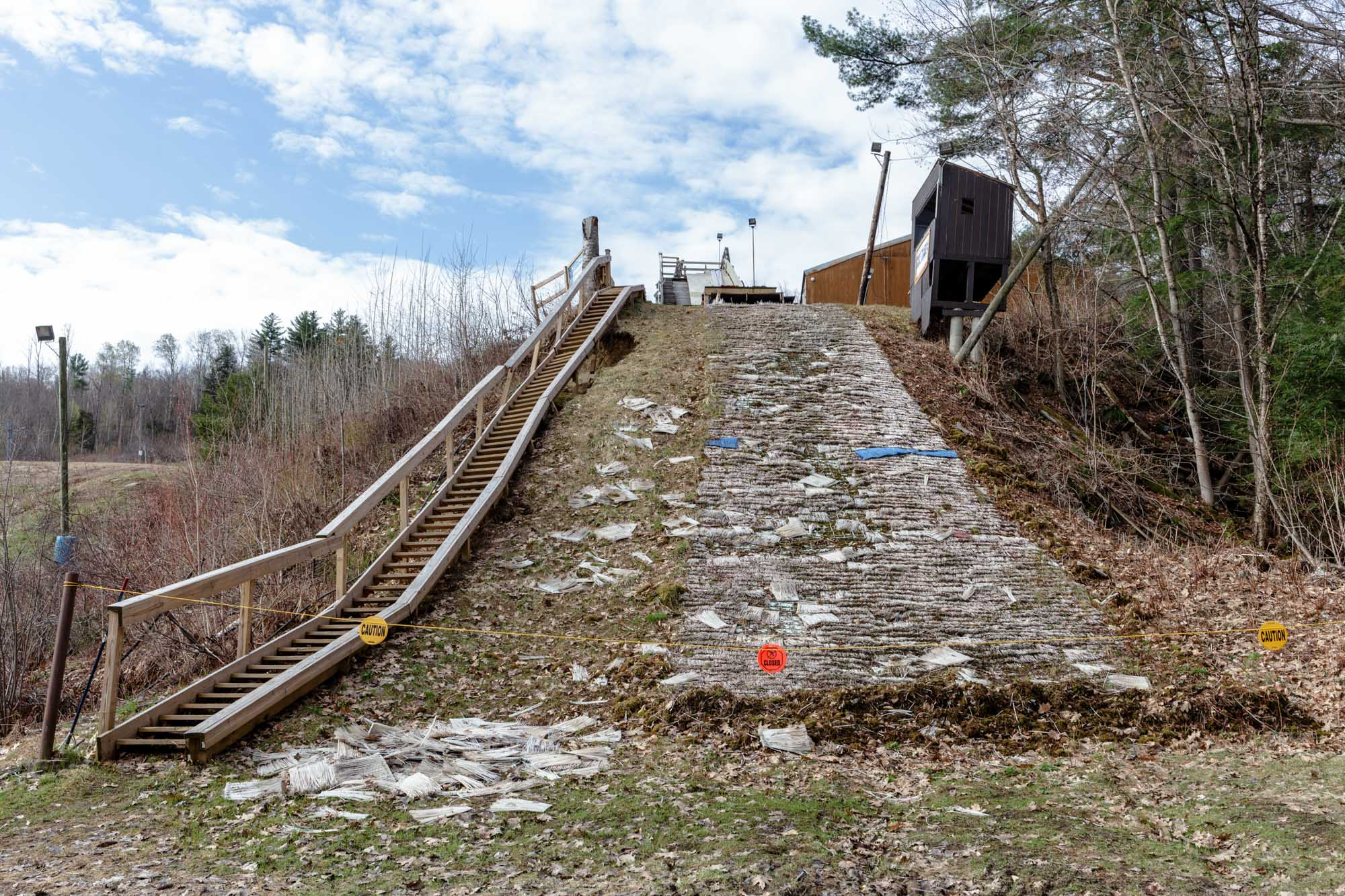 Off-Season Ski Jump