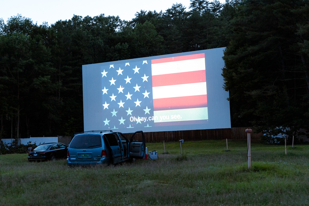 Drive-In Flag