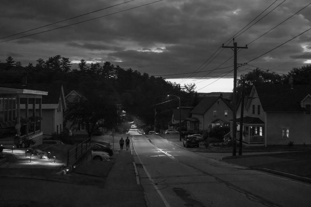 Street at Dusk