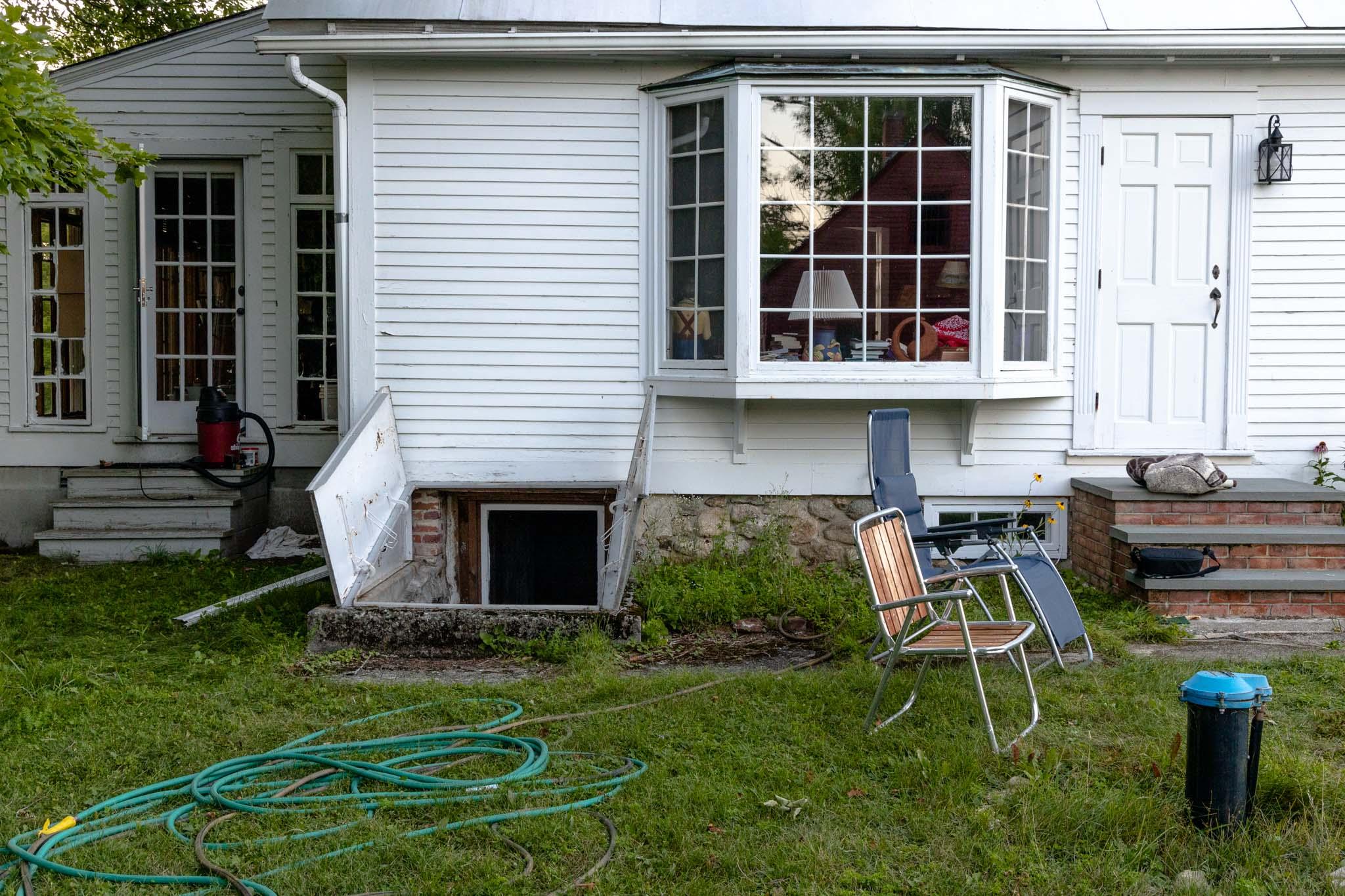Side Yard Still Life