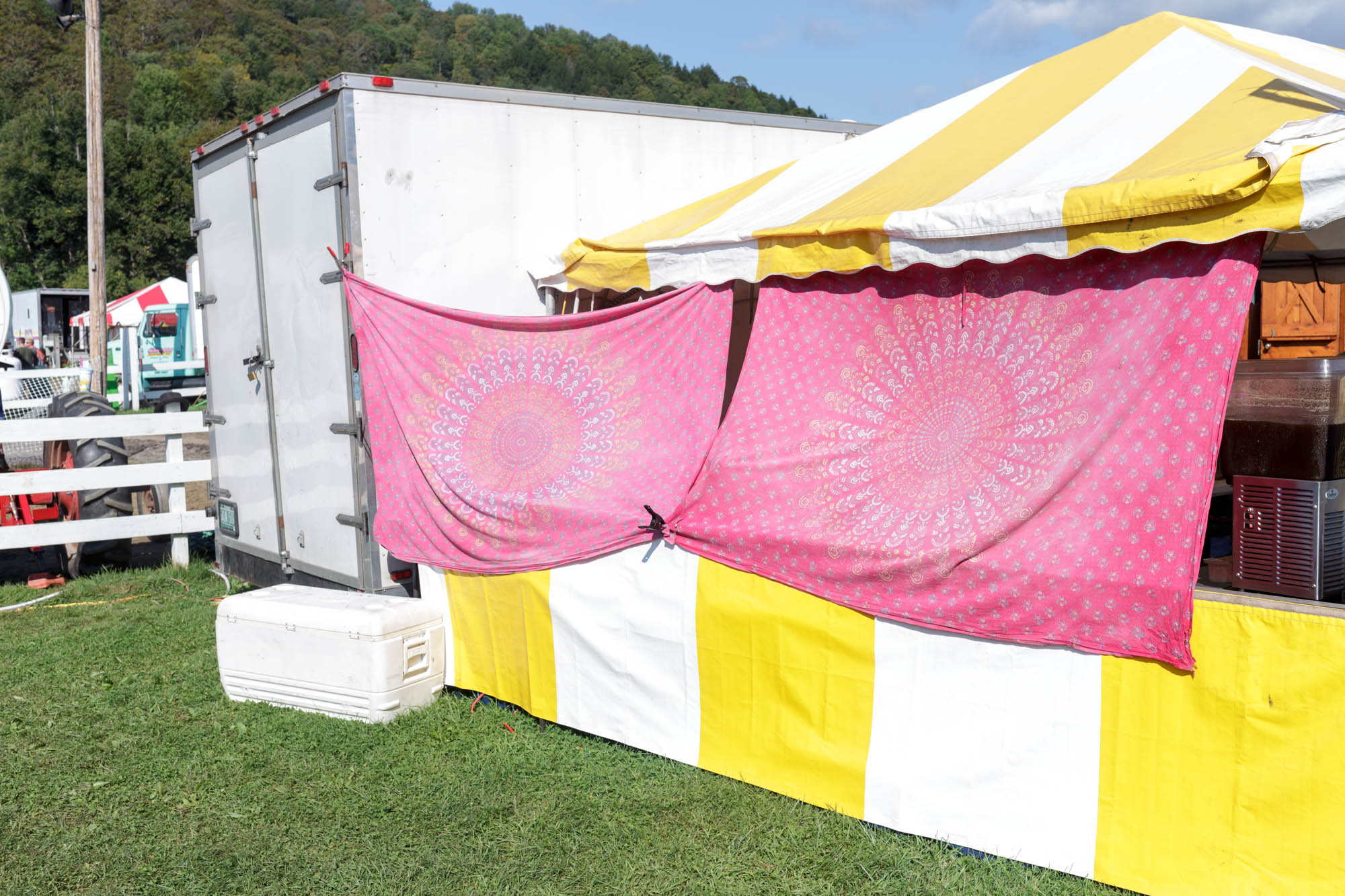 Tapestries and Tent