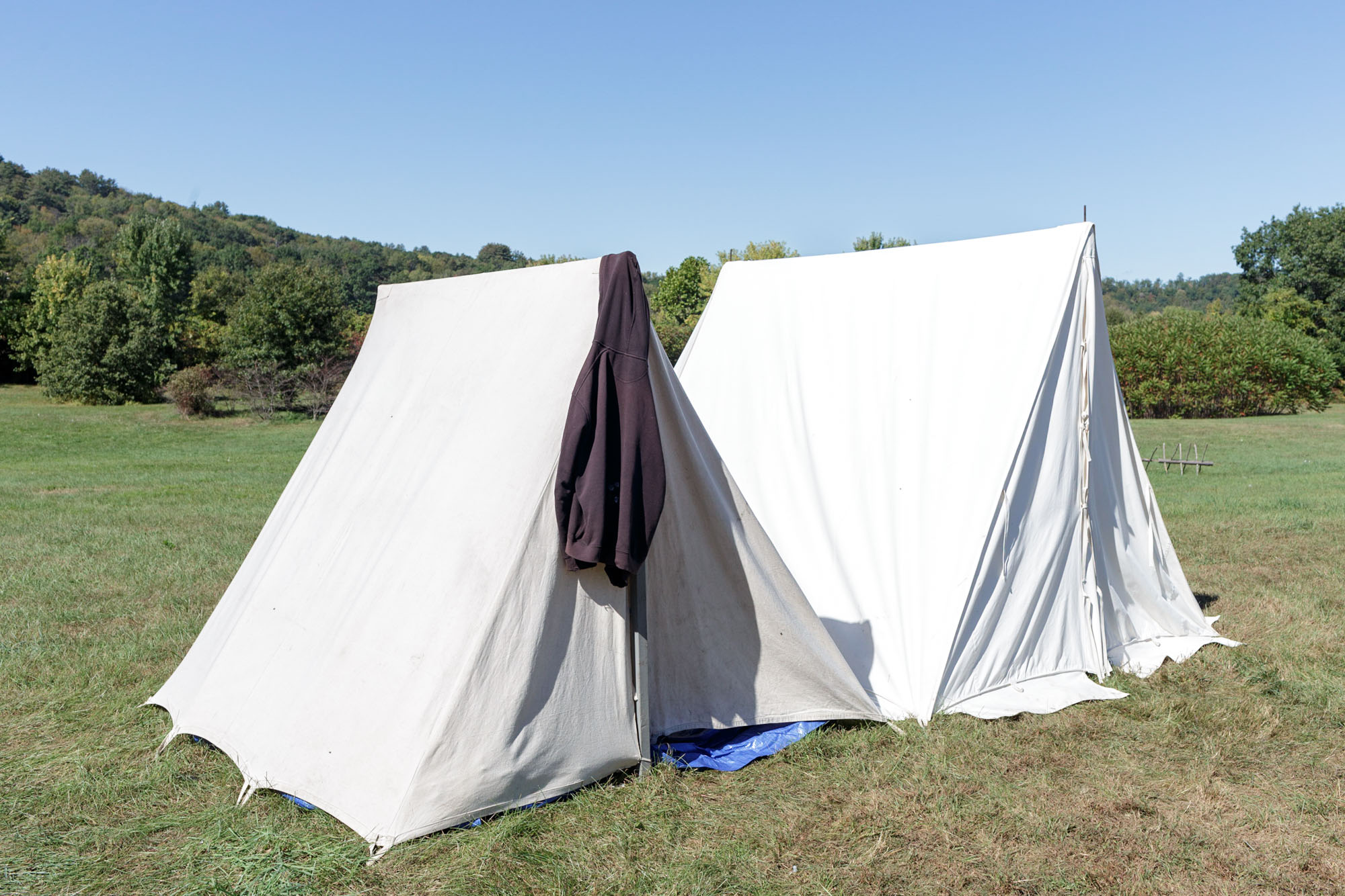 Sweatshirt and Tents