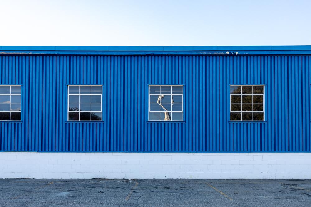 Deserted Car Dealership (Back)